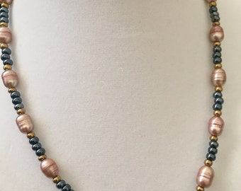 Fresh Water Pearl Necklace 16.5""