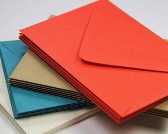 25 - A7 Matte Euro Flap Envelope - 5 1/4 x 7 1/4