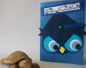 Graduation Quilling card, Card for Him, Greeting card,Quilled Graduation card, Handmade card