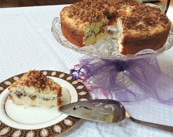 Company's Coming Coffee Cake downloadable PDF or JPEG Gourmet Classic recipe file