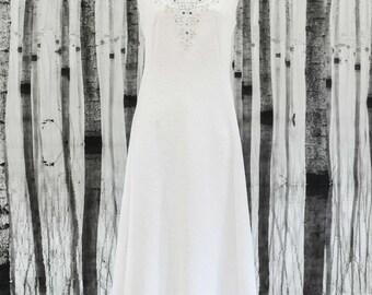 LIBERTY- Genuine Vintage 1970s Wedding Dress