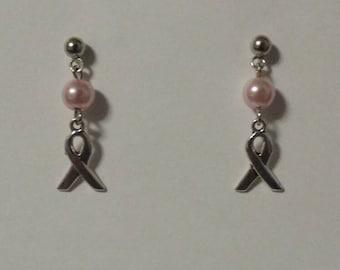 Awareness Ribbon Stud Earrings