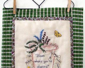 327 Garden Seeds Embroidery Design Digital