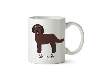 Labradoodle Mug (chocolate)