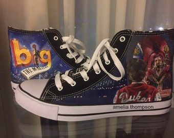 Custom Hand Painted Converse