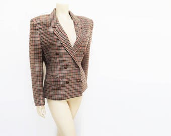 Tweed Jacket, UK12, 1980s, Ladies Clothing, Women's Vintage, Clothing, Tweed Jacket, Ladies Jacket, Vintage, Clothing, Blazer, Tweed