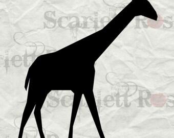 Giraffe SVG - svg cutting file for Cricut & Silhouette - Instant Download