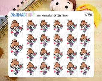 Janine FEELS LOVED Planner Stickers (G1730)
