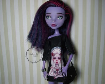 OOAK custom Monster High doll repaint Jane Boolittle