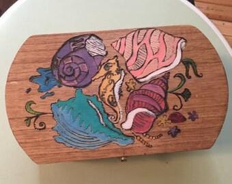Seashells Keepsakes Box