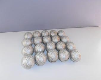 soviet greek nuts moulds set 40 shape tin aluminum baking molds walnut form oreshki cooking moulds baking ice candle making USSR kitchen