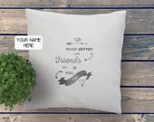 Best friends! Handprinted...