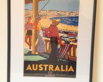 Australia Vintage Beach Life