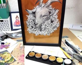 ORIGINAL ART ~ Godelieve