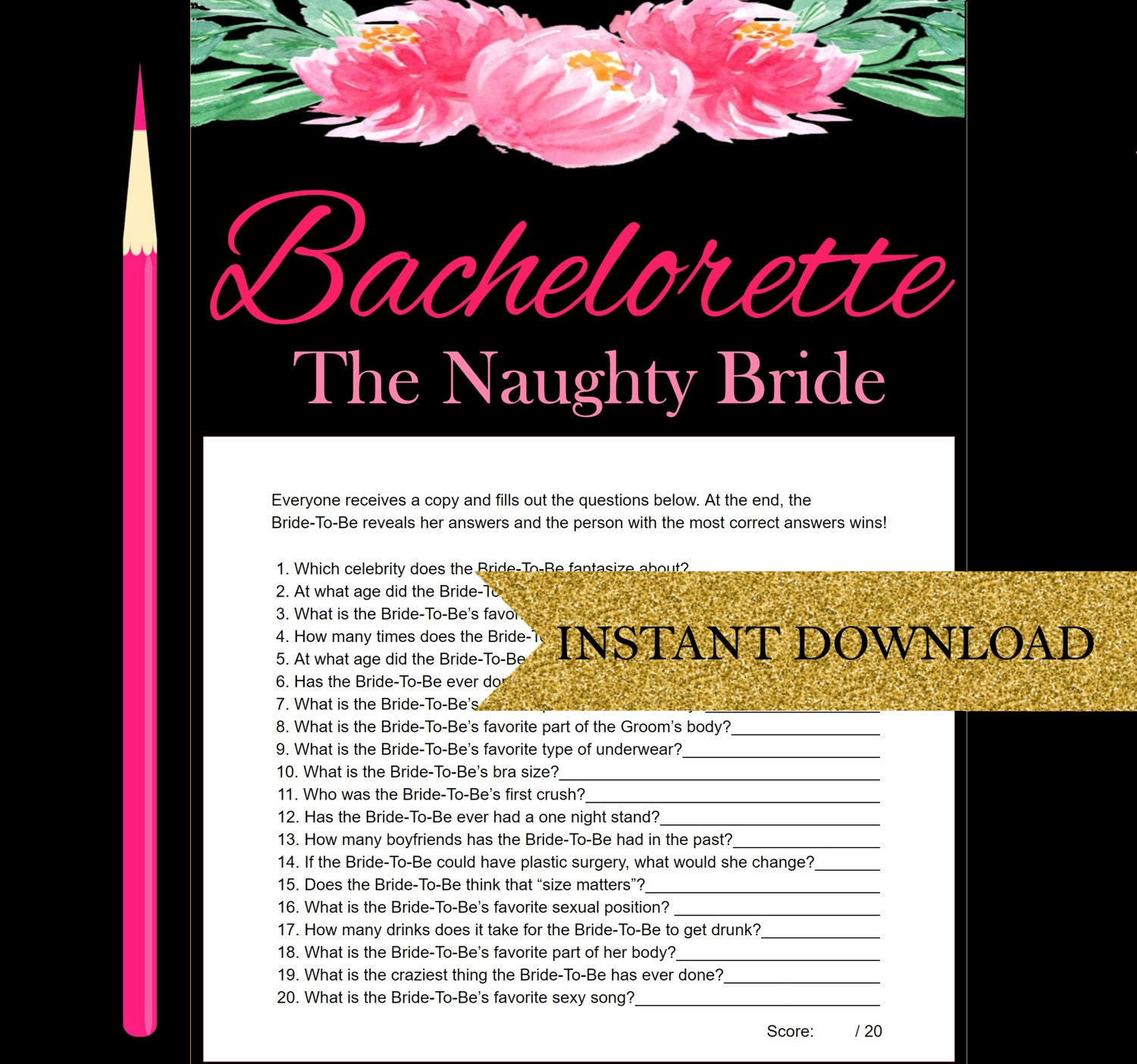 How Well Do You Know The Bride Bachelorette Party Games
