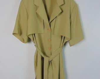 Vintage Belted Jacket