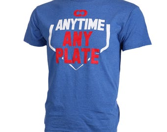 Anytime Any Plate Short Sleeve Softball T-shirt, Softball Shirts, Softball Gift - Free Shipping!
