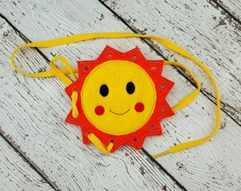 Sun Lacing Card