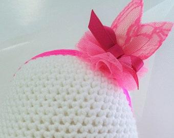 Ansi yellow headband, Neon pink headband,headband,bunny ears headband, neon pink ,Ansi yellow,bunney ear headband