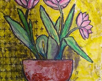 Tulip Still Life Etsy