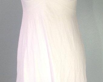 Vintage 1970's Vanity Fair Size 36 White Full Slip