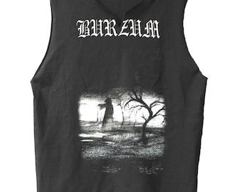 When Night Falls - Burzum raw edge muscle shirt