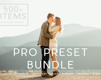 500+ Professional Lightroom Presets Professional Photo Editing for Portraits, Newborns, Weddings By LouMarksPhoto