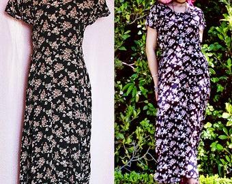 INNOCENT 90s Grunge Dress - Grunge Clothing - 90s Grunge 90s Floral Grunge Dress 90s Dress 90s Clothing 90s grunge vintage dress witchy boho