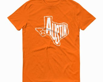 Austin Texas T-shirt, Texas T-shirt, Short Sleeve T-shirt