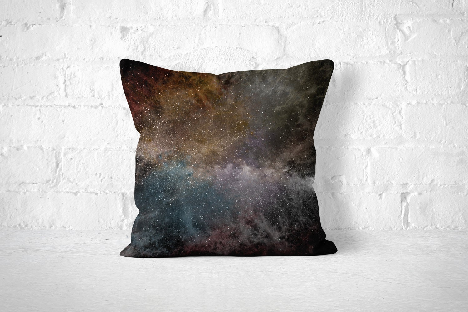 Space throw pillow space pillow stars pillow galaxy pillow for Galaxy fabric canada