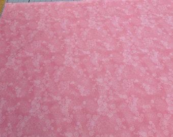 Curls Swirls-Dusty Rose Cotton Fabric