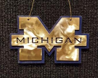 University of Michigan Wolverine Ornament