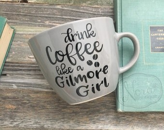 Drink Like a Gilmore Coffee Cup