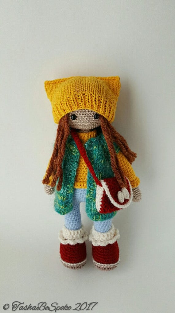 Crochet Doll Amigurumi Doll Stuffed Doll Plush Toy Gift for