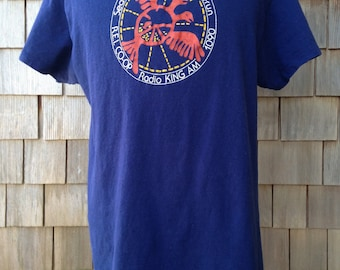Vintage Seattle Seafair Summerun T Shirt - Large - Seattle Washington - 80s