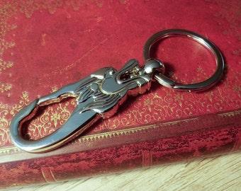 Fantasy Beast Metal Carabiner Keychain