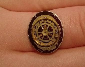 50% Off! Handmade Chaika Watchface Ring