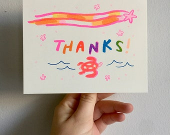 Thanks! Riso Card
