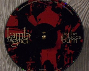 Lamb of God CD Clock