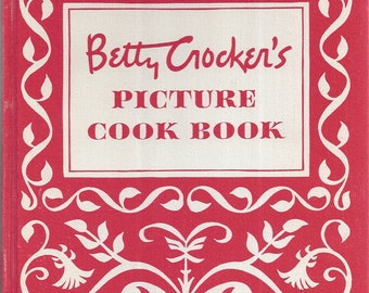 Betty Crocker's Picture Cook Book 1950 Hardcover 1st