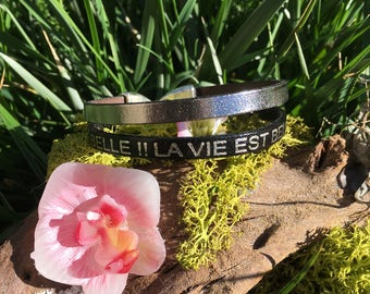 "Bracelet ""life is beautiful"""