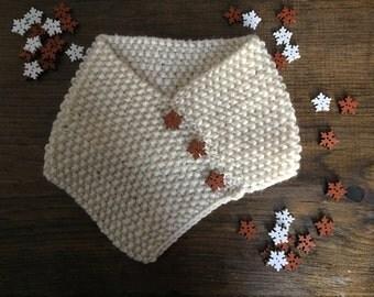 Baby-child cowl/Cache-cou/Foulard pour bébé-enfant