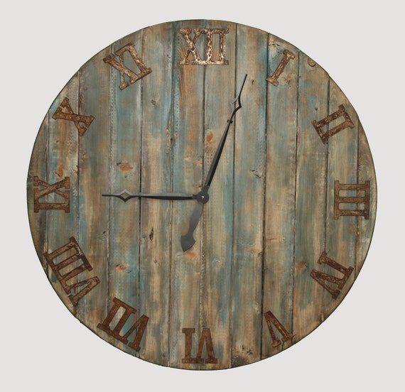 handmade wooden clocks oversized wall clock handmade wooden clock by mystictimes 9580