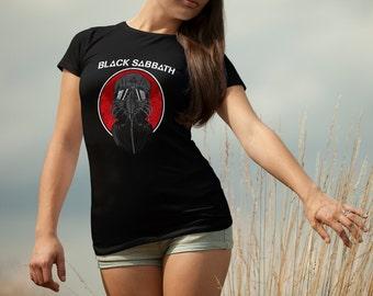 Black Sabbath T-shirt Black Sabbath Tshirt Black Sabbath Women Shirt Black Sabbath Tee Rock T-shirt Model 8