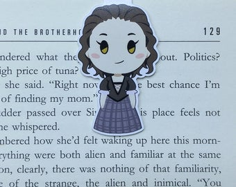 Claire - Magnetic bookmark - Scottish Girl || book lover gifts | outlander | bookmark | bookish | bookmarks | sassenach | magnetic bookmarks