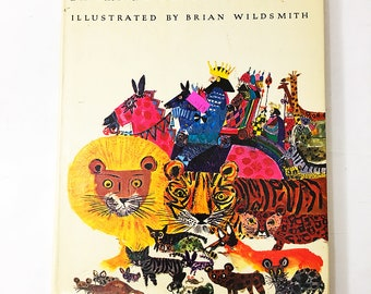 A Child's Garden of Verses book.  Robert Louis Stevenson.  Beautiful Hardback Book!   Vintage Children's Book.  Brian Wildsmith.  Circa 1976
