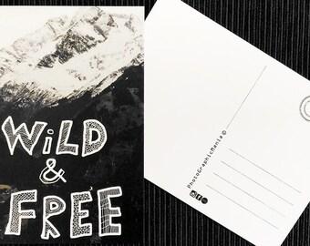 A6 Postcard - Original Photo/Graphics-envelope included!