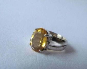 Topaz Silver 950 Ring