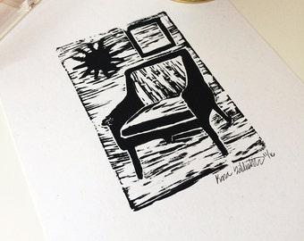 Midcentury Modern Chair Print