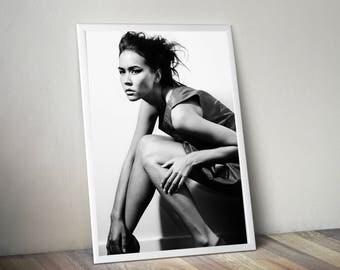 Fashion model print, printable fashion,Fashion poster, fashion wall art, fashion print, Woman Print, fashion photography, model print,